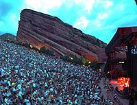 Many great concerts at Red Rocks!