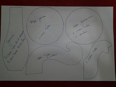 bule e xícara de feltro ou tecido com molde 2