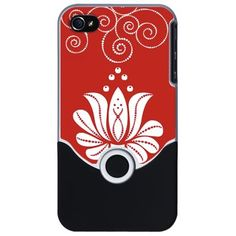 Red Lotus iPhone Case on