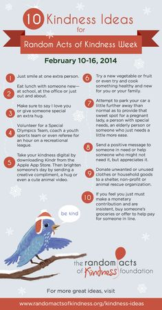 10 Kindness Ideas for #RAKWeek