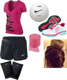 """""""Volleyball practice"""" by never-a-hipster-its2mainstream ❤ liked on Polyvore"""