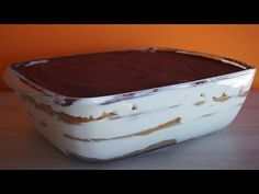 Tiramisu (Sin Huevo) en 5 minutos | Receta Facil - YouTube
