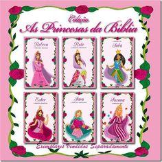 Festa Infantil Tema Princesas da Bíblia. Veja esta e outras ideias no nosso blog.