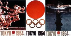How The 1964 Tokyo Olympic Games Changed The Global Identity Of Japan 1964 Olympics, Tokyo Olympics, 2d Design, Graphic Design, Hiroshima Peace Memorial, Japan Info, Meiji Restoration, Study Japanese, Japanese Warrior