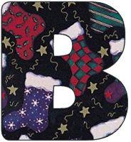 Alfabeto de calcetines navideños. | Oh my Alfabetos!