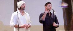 I feel like this gif pretty accurately sums up Jensen and Jared's dynamic.