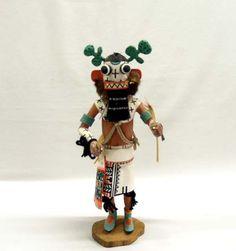 Vintage Native American Hopi Cactus Kachina