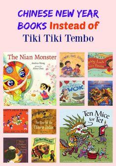 Chinese New Year Books Instead of Tiki Tiki Tembo