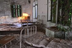 Abandoned mental hospital Poveglia Italy  AlbumSource in comments