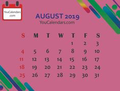 Here you will get high quality Calendar like Free August 2020 Calendar Printable Template in different format like JPG August Calendar 2020 Holidays PDF Custom Calendar, Print Calendar, Calendar Printable, Academic Calendar, School Calendar, September Calendar, 2019 Calendar, Disney And More, Holiday Time