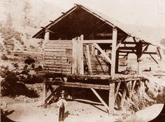 Sutter's Mill via California State Library. Now Marshall Gold Discovery State Historic Park