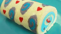 HEARTHSTONE ROLL CAKE - NERDY NUMMIES