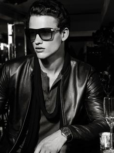 Simon Nessman, Alexandre Cunha & Simon van Meervenne Star in A|X Armani Exchange Holiday 2013 Campaign