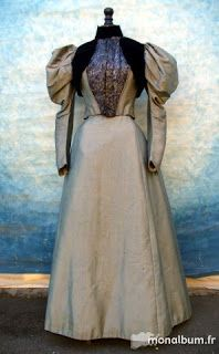 All The Pretty Dresses: 1890's Day Dress