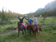 "From Global Traveler Janece: ""THANK YOU FOR MAKING MY DREAMS COME TRUE. Not many people could say they have woken up to mother grizzlies  their cubs on their doorstep  ridden horses across snow in the rocky mountains of Banff National Park or even eaten Poutine! Canada is such a stunning country  thanks to you I was able to experience it in all its amazing beauty in the best way possible. Thank you again"" #globalworkandtravel #canada"