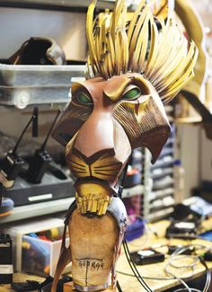 Each mask for The Lion King is a bespoke piece. Two shows have given the art of puppetry a new lease of life - Backstage.
