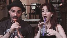 Ramin and Sierra being adorable on Vlogger 24601 Episode 4. These two, just...ugh