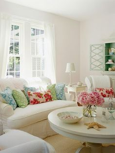"""Love the color against the white  """"Brought to you by NBC's American Dream Builders, Hosted by Nate Berkus"""""""