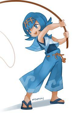 Random scrap (hapu and lana! I love their designs) Kiawe Pokemon, Pokemon People, Pokemon Fan Art, Anime Sisters, Mudkip, Gotta Catch Them All, Cute Games, Human Art, Character Art