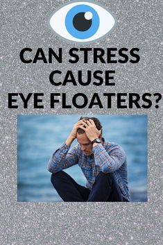 People commonly question whether or not stress causes eye floaters, find out more in this short article. Feeling Stressed, Stressed Out, How Are You Feeling, Vitreous Humour, Eye Floaters Causes, Eye Twitching, Calming Music, Ways To Relieve Stress, Stress Causes