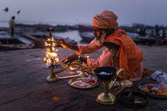 Dawn Puja by Drew Hopper