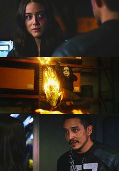 Robbie Reyes / Ghost Rider and Daisy Johnson / Quake #Quakerider #Marvel Agents of S.H.I.E.L.D. #AoS #AgentsofSHIELD