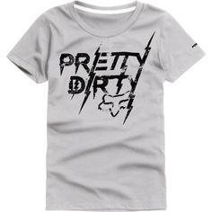 ec2254521273 Fox Womens Pretty Dirty Tech Tee - Fox Racing Fox Motocross, Mountain  Biking Women,