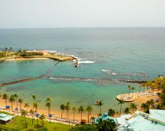 Caribe Hilton, San Juan, Puerto Rico. I stayed in this hotel and had this view!