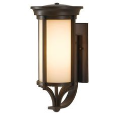 View the Murray Feiss OL7502 Merrill Single Light Up Lighting Large Outdoor Wall Sconce at LightingDirect.com.
