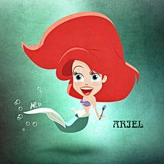 Walt Disney Fan Art - Princess Ariel - walt-disney-characters Fan Art