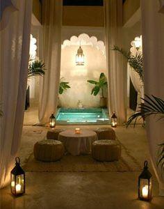 Romantic Turkish Bath design