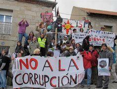 Más de 200 personas participaron el sábado en una manifestación contra la corrupción en Collado Villalba