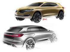 Lincoln MKX Concept - Design Sketches