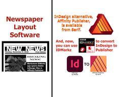 Markup Language, Newspaper Layout, Desktop Publishing, Adobe Indesign, Page Layout, Serif, Software, Alternative, Author