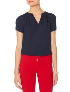 Short Sleeve Blouse from THELIMITED.com