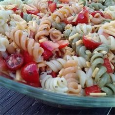 """Home Town Drive-In Pasta Salad 
