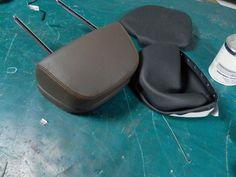 Replacing seat head restraint BMW X3 f10
