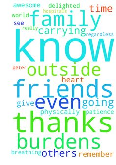 Thanks friends at prayer request for all the prayers - Thanks friends at prayer request for all the prayers and encouragements.  I'm very delighted to know that you really care for me and my family. We are carrying the burdens together and I know that someone outside the world is praying for me even this time I'm writing   regardless of not knowing me physically. I thank God for this day because others are even struggling to see it as they are critically sick in hospitals and others are on…