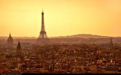 Image result for paris sunset