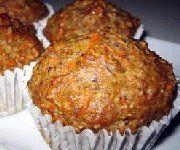 Recettes Santé : Muffins aux carottes et graines de lin Dessert Muffins/ Brioches Muffins aux carottes