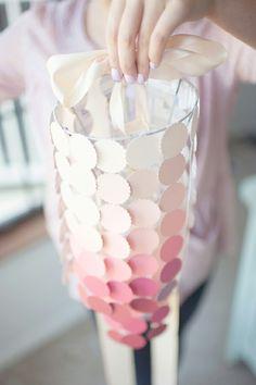 Paint Chip lantern