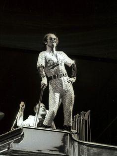 Baseball Elton.   The 28 Most Flamboyant Elton John Stage Costumes Ever
