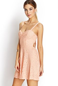 Delicate Crochet Lace Dress | FOREVER 21 - 2000071778