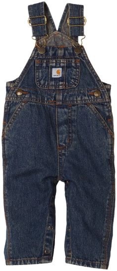 Carhartt Washed Denim Bib Overall - Baby Boy;;; Just bought one the other day <3 Hope it's a boy lol.