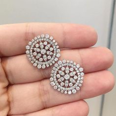 Most Expensive Diamond Ring In The World 2016 either Essential Jewellery Near Me both Muji Jewellery Organizer over Jewellery Box Making Ideas Diamond Earrings Indian, Diamond Earing, Diamond Bangle, Diamond Pendant Necklace, Gold Earrings, Diamond Jewelry, Earring Studs, Most Expensive Diamond Ring, Chen