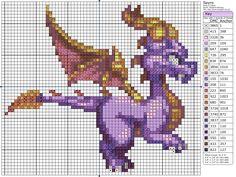 Spyro the Dragon » Birdie Stitching