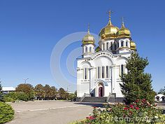 Orthodoxy Church Temple With Golden Domes - Download From Over 47 Million High…