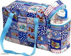 Checkout this latest Clothes Covers_1000-1500 Product Name: *Stylish Baby Diaper Bag* Material: Rexine Size: Free Size Description: It has 1 piece of Baby Diaper Bag with 2 Bottle Warmers Work: Printed Country of Origin: India Easy Returns Available In Case Of Any Issue   Catalog Rating: ★4.2 (1011)  Catalog Name: Pretty Baby Diaper Bags Vol 1 CatalogID_110818 C131-SC1628 Code: 293-940079-219