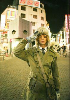 Ryosuke Miura. Kamen Rider Ooo, Boys Who, Canada Goose Jackets, Eyebrows, Saints, It Cast, Handsome, Winter Jackets, Singer