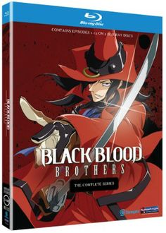 Black Blood Brothers Blu-ray Complete Series (Hyb) #RightStuf2013